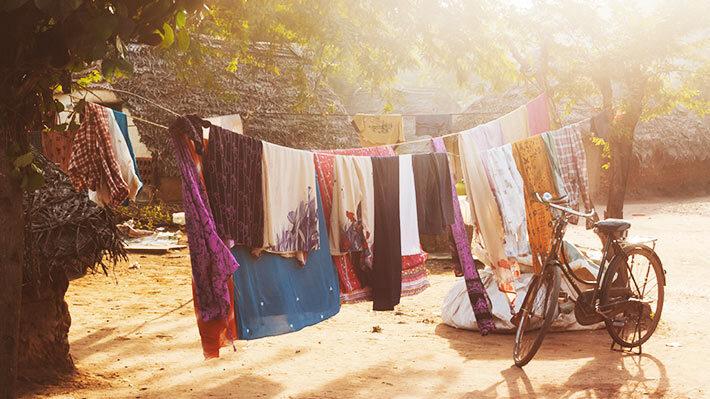 洗濯ものの画像