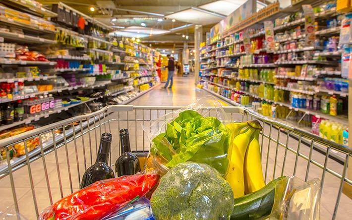 ハワイのスーパー店内