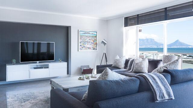 海が見える部屋の画像