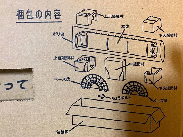 電気ストーブCORONAのDH-C91A(N)の梱包内容一覧