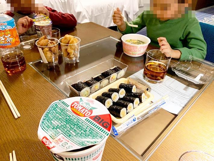 シェラトン東京ベイで夕食